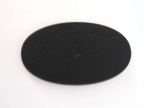 oval base 75mm x 45mm